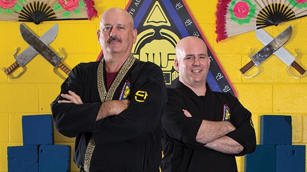 Master Chris Fortin and Chief Master Gerry Fortin